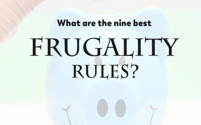 What are the nine best frugality rules?